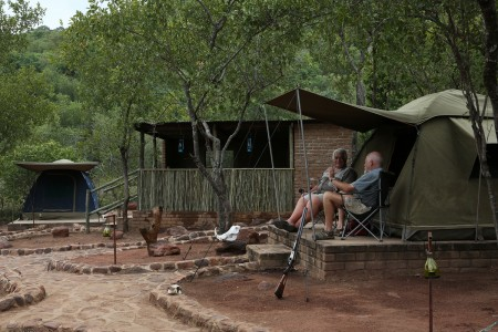 Tented C& Set Up & Accommodation | Waterfall Lodge South Africa